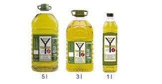 Aceite de oliva formatos intenso